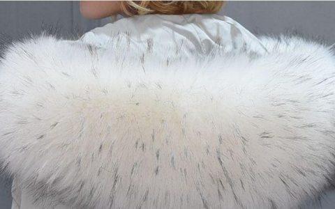 狐狸毛领可以用水洗吗