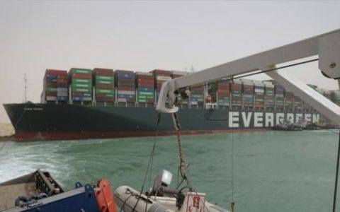 长赐号货轮仍停留在苏伊士运河 苏伊士运河堵塞造成多大损失