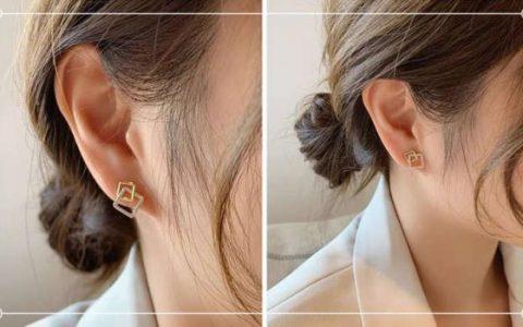 女生日常戴什么耳环简单又气质?这五款谁戴谁好看!